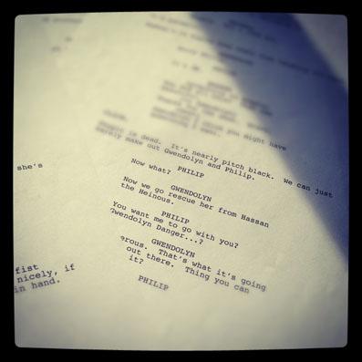 Script Photo